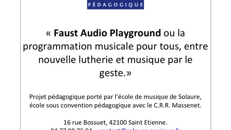 Stage « Faust Audio playground »